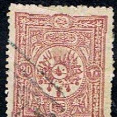 Sellos: TURQUIA // YVERT 84 // 1892-99 ... USADO. Lote 288215818