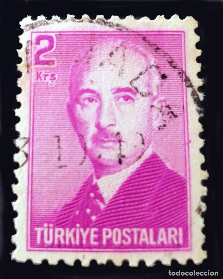 MICHEL TR 1205 - TURQUÍA - ISMET INONU (1884-1973) (Sellos - Extranjero - Europa - Turquía)