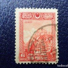 Sellos: TURQUIA, 1926, CIUDADELA DE ANKARA, YVERT 702. Lote 289619793