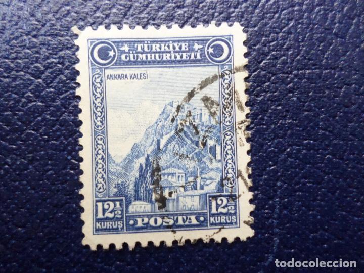 TURQUIA, 1930, CIUDADELA DE ANKARA, YVERT 761 (Sellos - Extranjero - Europa - Turquía)