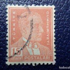 Sellos: TURQUIA, 1931, ATATÜRK, YVERT 816. Lote 289620678