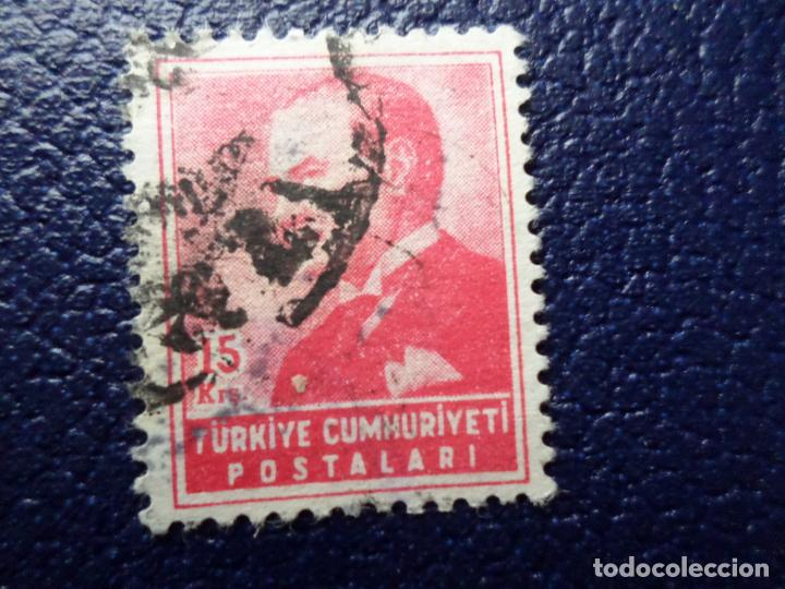 TURQUIA, 1955, ATATÜRK, YVERT 1222 (Sellos - Extranjero - Europa - Turquía)