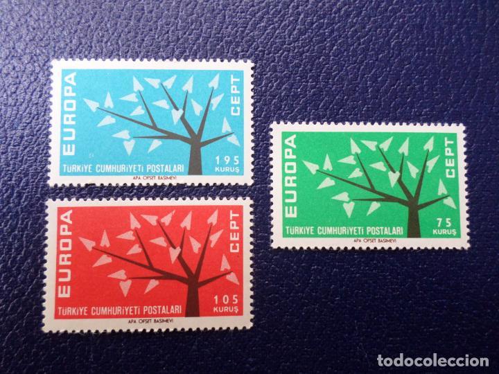 TURQUIA, 1962, EUROPA, YVERT 1627/9 (Sellos - Extranjero - Europa - Turquía)