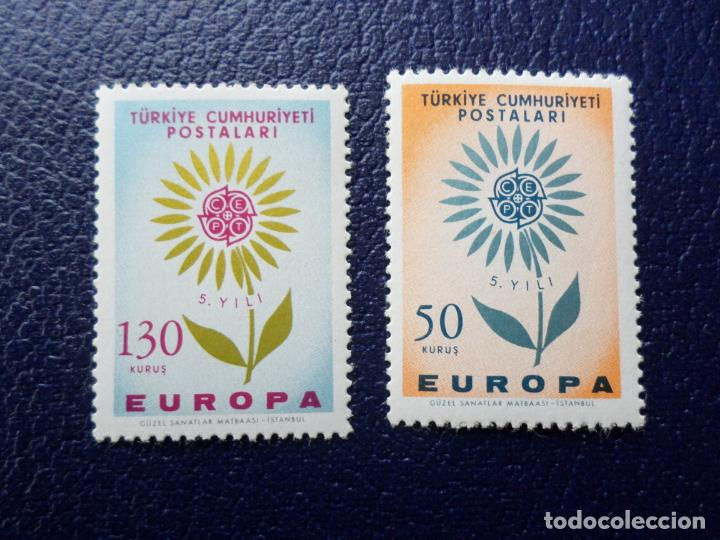 TURQUIA, 1964, EUROPA, YVERT 1697/8 (Sellos - Extranjero - Europa - Turquía)