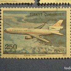 Sellos: TURQUIA 1973 - AVIONES.. Lote 296023313
