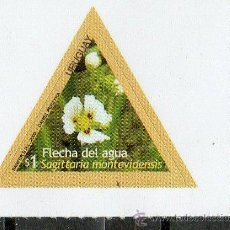 Sellos: 21 URUGUAY-2009-MINT -FLORES DEL URUGUAY. Lote 14522495