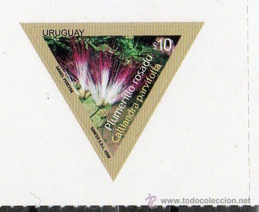 23 URUGUAY-2009-MINT -FLORES DEL URUGUAY (Sellos - Extranjero - América - Uruguay)