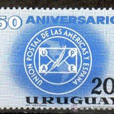 Sellos: 47 URUGUAY-1963 -MINT - SS-50A. DE UPAE. Lote 14746010