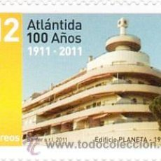 """Sellos: 95 URUGUAY - 2011 - 100 AÑOS DEL BALNEARIO """" ATLÁNTIDA """". Lote 26066482"""