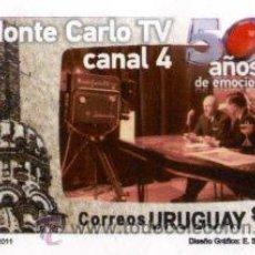 Sellos: 103 URUGUAY 2011- 50 AÑOS CANAL 4. Lote 26852389