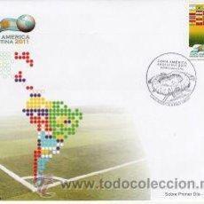 Sellos: 129-URUGUAY- 2011-FDC DE LA COPA AMÉRICA DE SELECCIONES - ARGENTINA 2011-. Lote 28311421