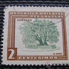 Sellos: 1954 URUGUAY, IVERT Nº 625 TEMA BIODIVERSIDAD FORESTAL. Lote 29226198