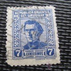 Sellos: 1947 URUGUAY, GENERAL JOSE GERVASIO ARTIGAS, YVERT 579. Lote 29226254