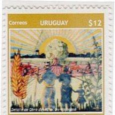 Sellos: 182-URUGUAY-2009- 100 AÑOS DEL PUEBLO DE MIGUELETE. Lote 29437960
