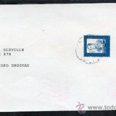 Sellos: 26URUGUAY - SOBRE CIRCULADO EN MONTEVIDEO. Lote 30234819