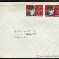 Sellos: 28URUGUAY - 1971 SOBRE CIRCULADO EN MONTEVIDEO. Lote 30234893