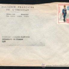 Sellos: 29URUGUAY - 1972 SOBRE CIRCULADO EN MONTEVIDEO. Lote 30234924