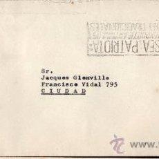 Sellos: 30URUGUAY - 1972 SOBRE CIRCULADO EN MONTEVIDEO. Lote 30234968