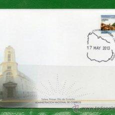 Sellos: 320 URUGUAY 2013- FDC-SERIE PERMANENTE DERECHOS DE LOS TRABAJADORES RURALES - LEÑADORA-. Lote 38199307