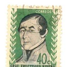 Sellos: 2URU-699. SELLO USADO URUGUAY. YVERT Nº 699. GENERAL FRUCTUOSO RIBERA. Lote 38788994