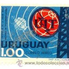 Sellos: 2URU-277AE. SELLO USADO URUGUAY. YVERT Nº 277AE. CENTENARIO UIT. Lote 38795529