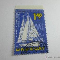 Sellos: SELLO-URUGUAY-1963-1,40 C-CAMPORA-.. Lote 43917853