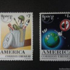 Sellos: SELLOS DE URUGUAY. YVERT 1850/1. (AMÉRICA UPAEP). SERIE COMPLETA NUEVA SIN CHARNELA.. Lote 53159634