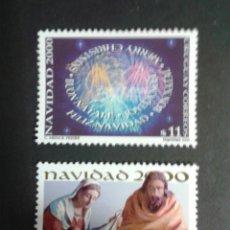 Sellos: SELLOS DE URUGUAY. NAVIDAD. YVERT 1935B/C. SERIE COMPLETA NUEVA SIN CHARNELA.. Lote 53159638