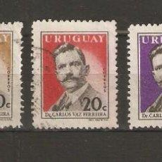 URUGUAY. 1959. YVERT Nº 661/665