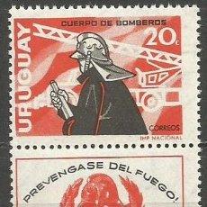 Sellos: URUGUAY YVERT NUM. 746 ** SERIE COMPLETA SIN FIJASELLOS. Lote 67912118