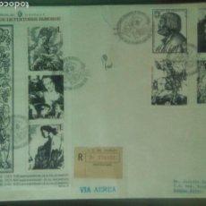 Sellos: URUGUAY SOBRE CIRCULADO VIA AEREA 1978 GRABADOS PINTORES FAMOSOS GOYA . Lote 73960325