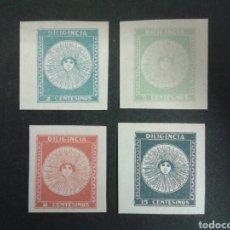 Sellos: SELLOS DE URUGUAY. YVERT 414/7. SERIE COMPLETA NUEVA SIN GOMA.. Lote 75094125