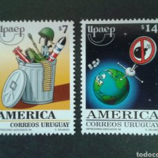 Sellos: SELLOS DE URUGUAY. YVERT 1850/1. SERIE COMPLETA NUEVA SIN CHARNELA. AMÉRICA UPAEP.. Lote 75108725