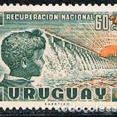 Sellos: URUGUAY 864, RECUPERACIÓN ECONÓMICA NACIONAL, NUEVO ***. Lote 238408370