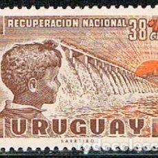 Sellos: URUGUAY 863, RECUPERACIÓN ECONÓMICA NACIONAL, NUEVO ***. Lote 238407980