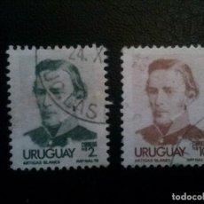Sellos: URUGUAY , YVERT Nº 968 - 969 , 1976. Lote 86865056