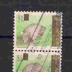 Sellos: FAUNA SALVAJE. URUGUAY. SELLO AÑO 2005. Lote 87635896