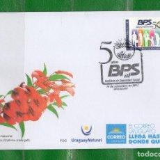 Sellos: URUGUAY-2017- 50 AÑOS DEL BCO. PREVISIÓN SOCIAL TT: GENTE, ANIVERSARIOS . Lote 98990895