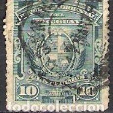 Sellos: URUGUAY 1889 - USADO. Lote 99198623