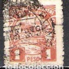 Sellos: URUGUAY 1938 - USADO. Lote 99198831