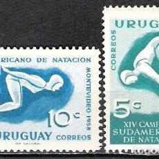 Sellos: URUGUAY 1958 - NUEVO. Lote 99198887