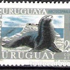 Sellos: URUGUAY 1970 - USADO. Lote 99198971