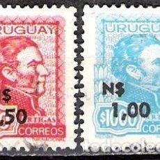 Sellos: URUGUAY 1975 - USADO. Lote 99199035