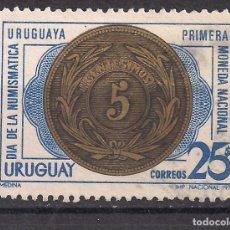 Sellos: URUGUAY 1971 - USADO. Lote 99199351