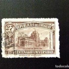 Sellos: URUGUAY 1949 FACULTÉ DE MÉDECINE YVERT PA 144 FU . Lote 127845131