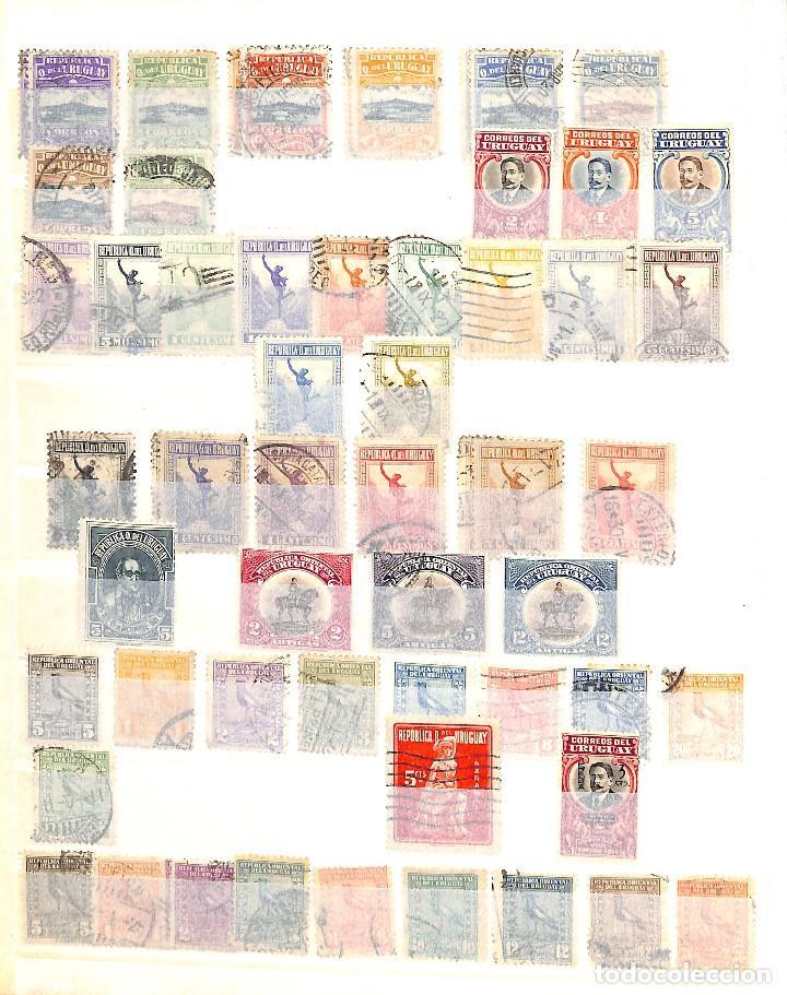 Sellos: URUGUAY, COLECCIÓN DE SELLOS , AÉREOS, OFICIAL, EN NUEVO Y USADO, - Foto 2 - 128812795
