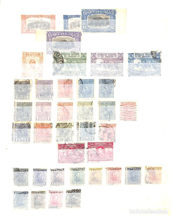 Sellos: URUGUAY, COLECCIÓN DE SELLOS , AÉREOS, OFICIAL, EN NUEVO Y USADO, - Foto 3 - 128812795