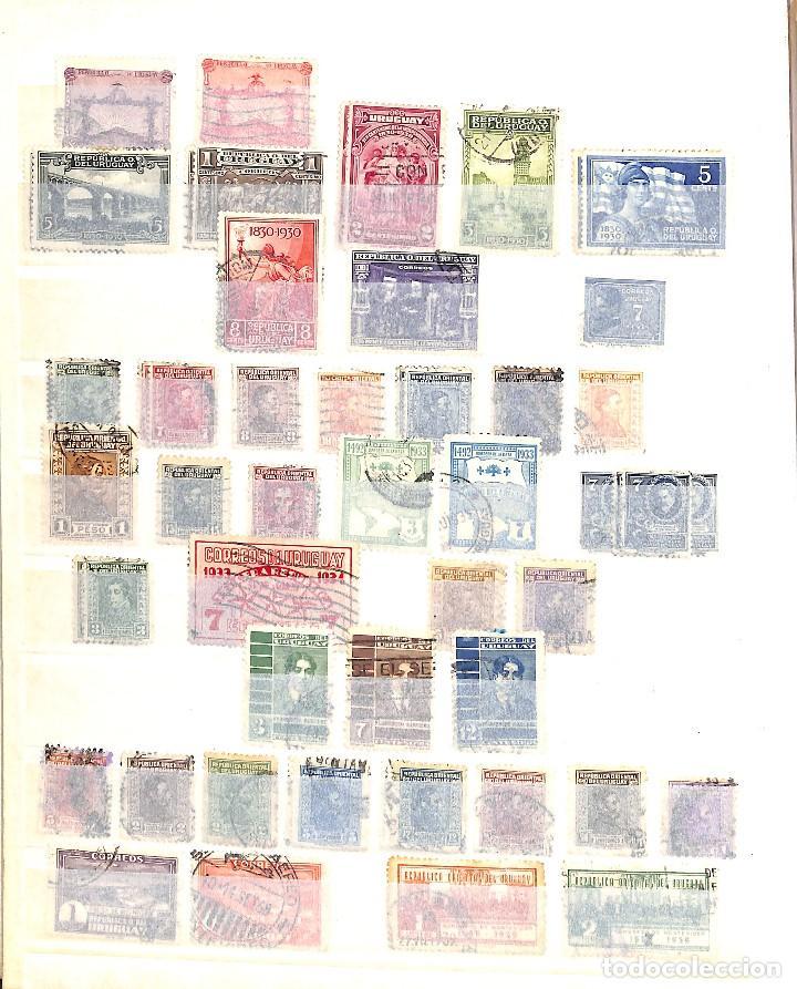 Sellos: URUGUAY, COLECCIÓN DE SELLOS , AÉREOS, OFICIAL, EN NUEVO Y USADO, - Foto 4 - 128812795