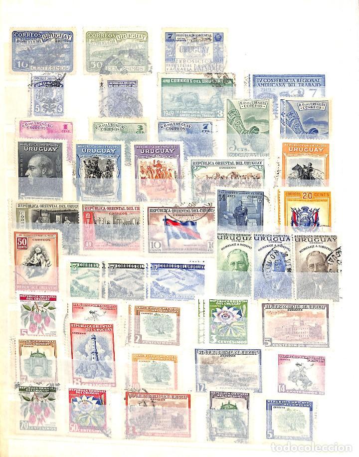 Sellos: URUGUAY, COLECCIÓN DE SELLOS , AÉREOS, OFICIAL, EN NUEVO Y USADO, - Foto 6 - 128812795
