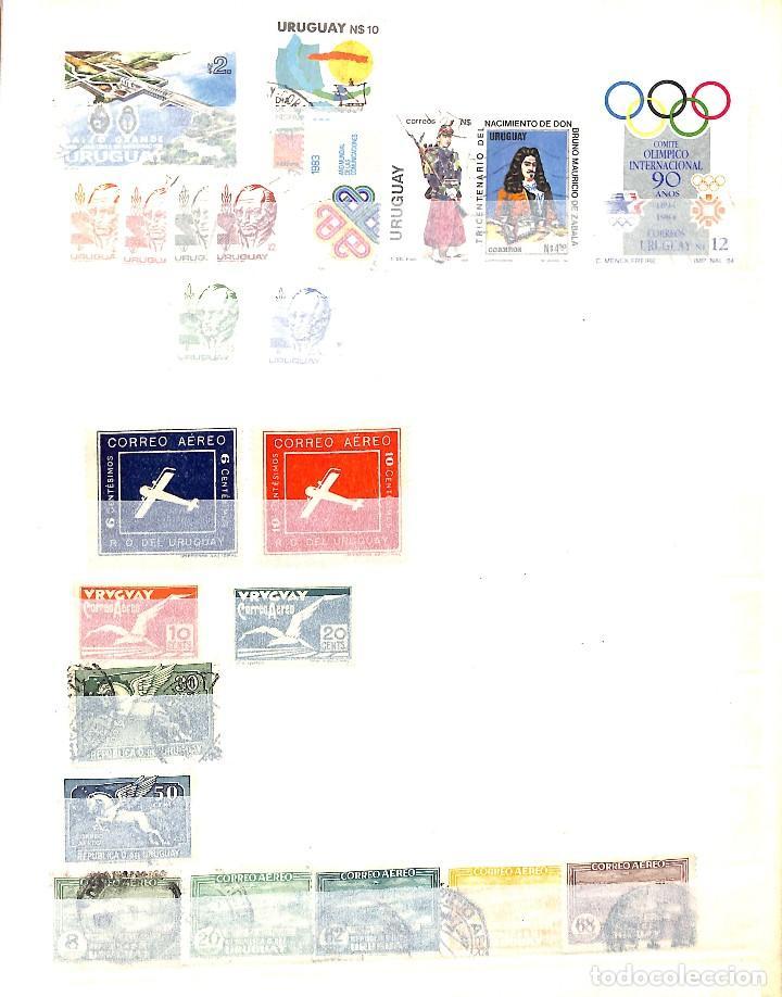Sellos: URUGUAY, COLECCIÓN DE SELLOS , AÉREOS, OFICIAL, EN NUEVO Y USADO, - Foto 9 - 128812795